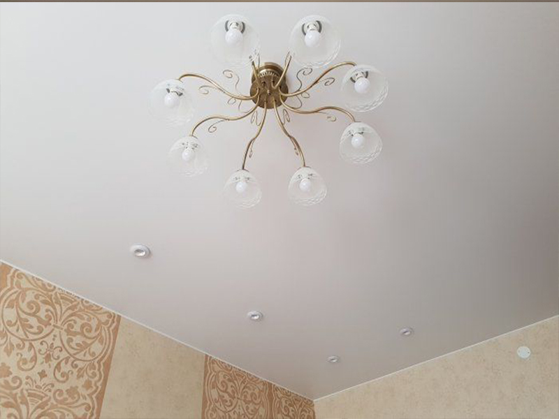 Матовый потолок в детской